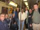 Group photo #1 at 95th St onboard an R train.