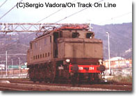 Class 626 at Albisola in 1999.