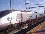 Acela Express at Secaucus Junction