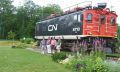 Group pose in Deux Montagnes by CN engine 6710