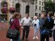 Group meets at Powell & Market Streets before riding cable car.