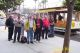 Group has just detrained at the Taylor & Bay cable car terminus at Fisherman's Wharf.