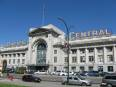 Exterior of Vancouver's Pacific Central Station.