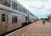 Southwest Chief, #4, at Lamy